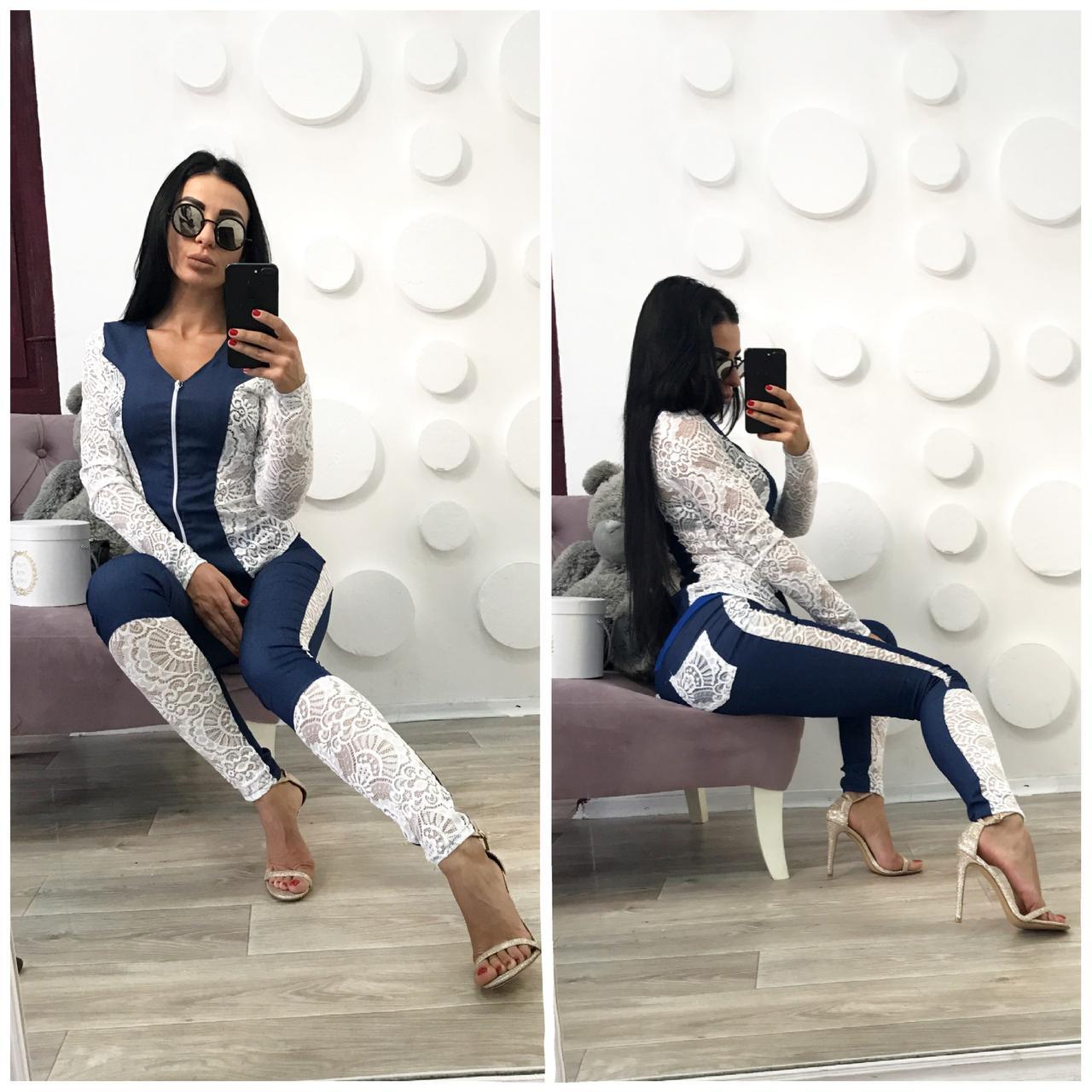 Костюм женский джинсовый сп1029