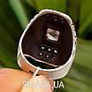 Крупный серебряный перстень с камнями - Стильное серебряное кольцо с чернением и камнями, фото 4