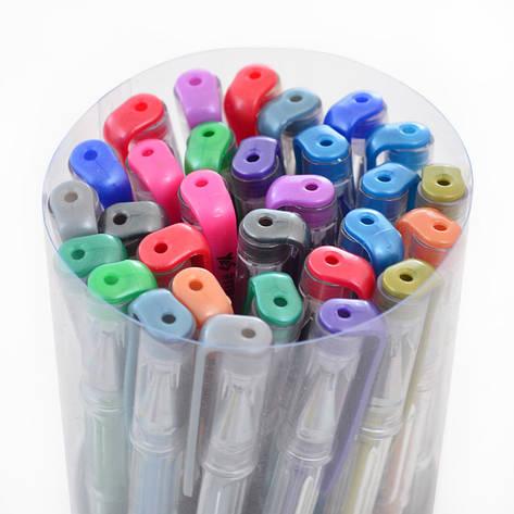Ручка гелевая Yes Metallic 30 цветов асорти цветов 0,8мм (411710), фото 2
