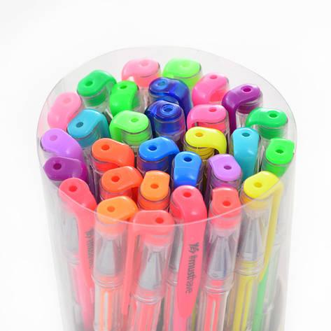 Ручка гелевая Yes Neon 30 цветов асорти цветов 0,8мм (411712), фото 2