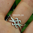 Эксклюзивное роскошное серебряное кольцо Стелла, фото 8
