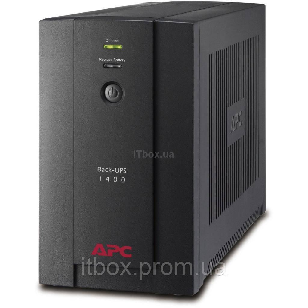 Источник бесперебойного питания APC Back-UPS 1400VA, IEC (BX1400UI) - ITbox.ua в Киеве