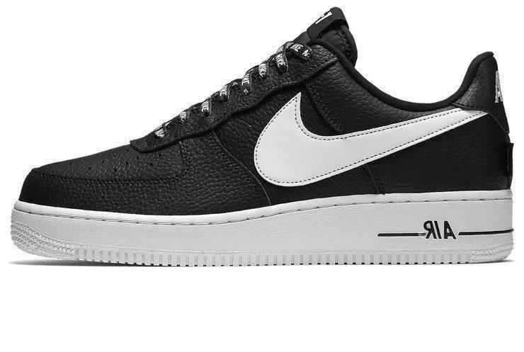 """Мужские кроссовки Nike Air Force 1 Low NBA """"Black/White"""" (в стиле Найк )"""