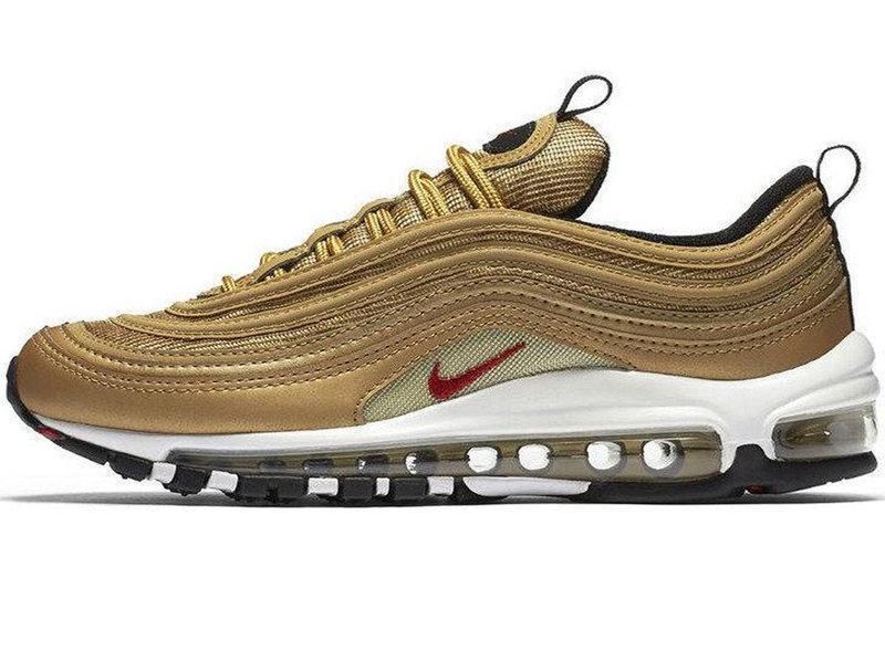 """Мужские кроссовки Nike Air Max 97 """"Gold"""" (в стиле Найк Аир Макс)"""
