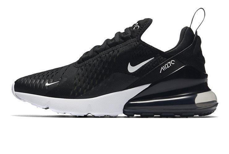 """Кроссовки Nike Air Max 270 """"Black/White""""(в стиле Найк Аир Макс)"""