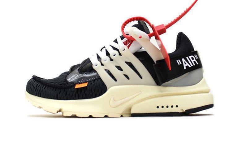 Мужские кроссовки Nike x Off-White Air Presto (в стиле Найк-Офф Вайт)