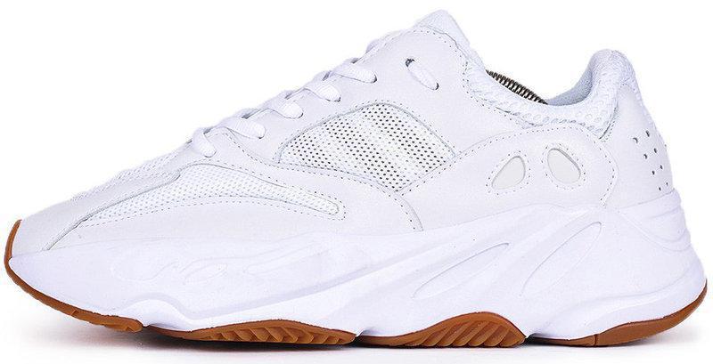 Мужские кроссовки Adidas Yeezy 700 Boost White Gum (в стиле Адидас )