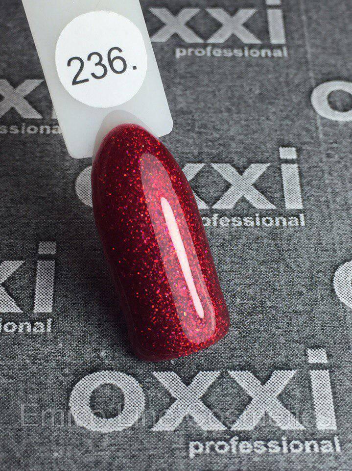 Гель-лак Oxxi Professional № 236