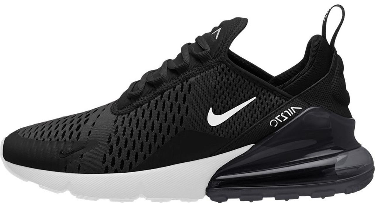 Мужские кроссовки Nike Air Max 270 Black (в стиле Найк Аир Макс)