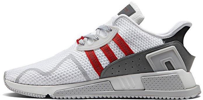 "Мужские кроссовки Adidas Equipment ""White/Red""(в стиле Адидас )"