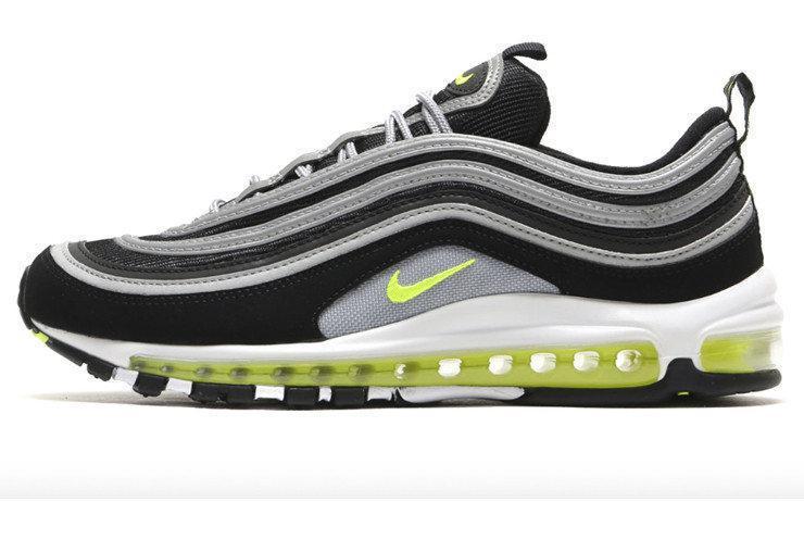 Мужские кроссовки Nike Air Max 97 Black Volt Coming Soon (в стиле Найк Аир Макс)