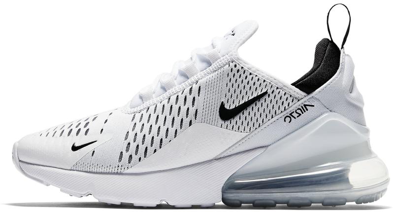 """Мужские кроссовки Nike Air Max 270 """"White/Black"""" (в стиле Найк Аир Макс)"""