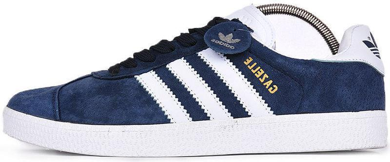"""Мужские кроссовки Adidas Gazelle """"Blue"""" (в стиле Адидас )"""