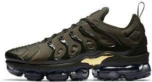 Мужские кроссовки Nike VaporMax 95 Khaki Gold (в стиле Найк )