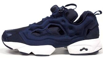 Мужские кроссовки Reebok Insta Pump Fury Blue (в стиле Рибок ИнстаПамп)