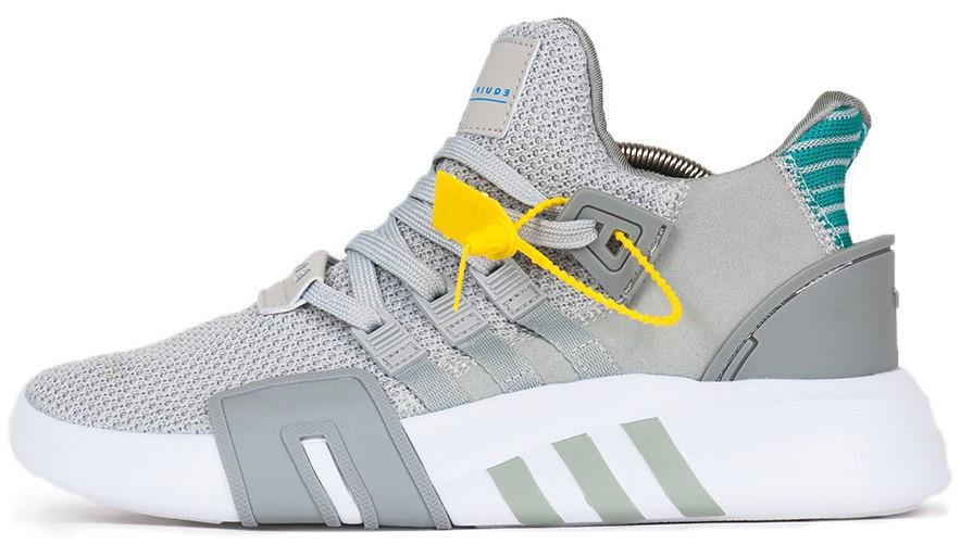 Мужские кроссовки Adidas EQT Bask ADV Grey (в стиле Адидас )
