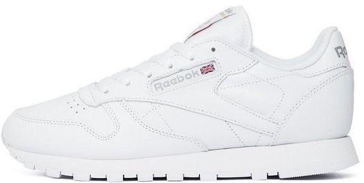 Мужские кроссовки Reebok Classic White (в стиле Рибок Класик)