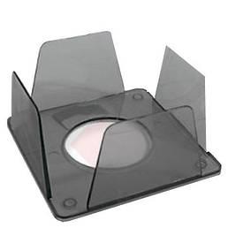 Куб для бумаги КиП BOKSKIP 90х90х45мм дымчатый (BOKSKIPдым.)