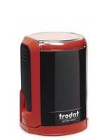 Оснастка для печати диам 42мм с колпачком красная