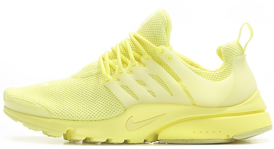 Женские кроссовки Nike Air Presto Ultra Breeze Lemon Chiffon (в стиле Найк)