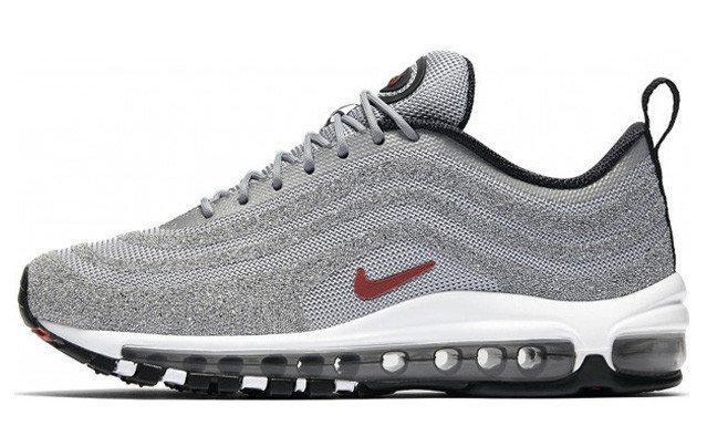 Женские кроссовки Nike Air Max 97 Silver (в стиле Найк)
