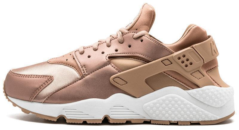 Женские кроссовки Nike Air Huarache Bronze Rose Gold (в стиле Найк)