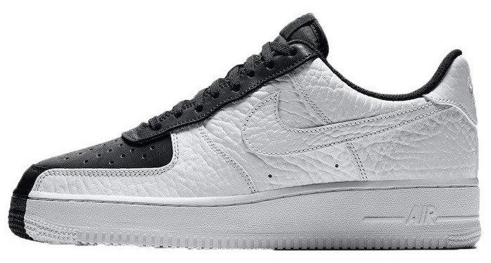"""Женские кроссовки Nike Air Force Low Split """"Black/White""""(в стиле Найк)"""
