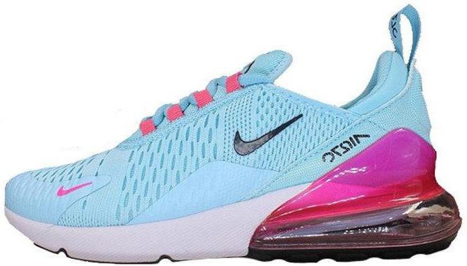"""Женские кроссовки Nike Air Max 270 """"Blue/White""""(в стиле Найк)"""