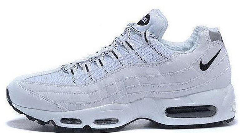 """Женские кроссовки Nike Air Max 95 """"White/Black"""" (в стиле Найк)"""