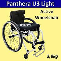 Легкая активная инвалиная коляска Panthera U3 Light Active Wheelchair