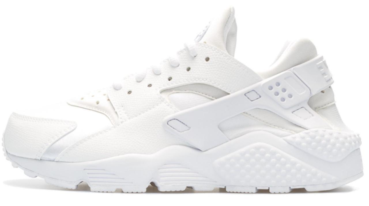 """Женские кроссовки Nike Huarache Triple """"White"""" ( в стиле Найк )"""