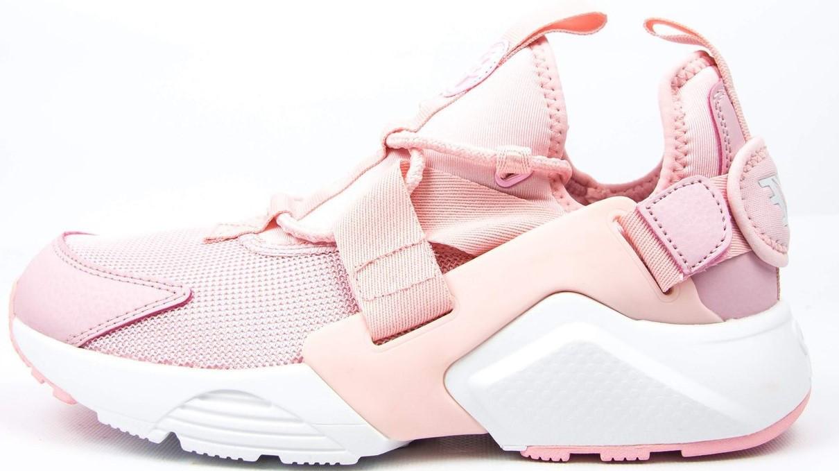 """Женские кроссовки Nike Huarache City Low """"Pink"""" ( в стиле Найк )"""