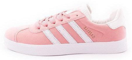 """Женские кроссовки Adidas Gazelle """"Pink""""(в стиле Адидас )"""