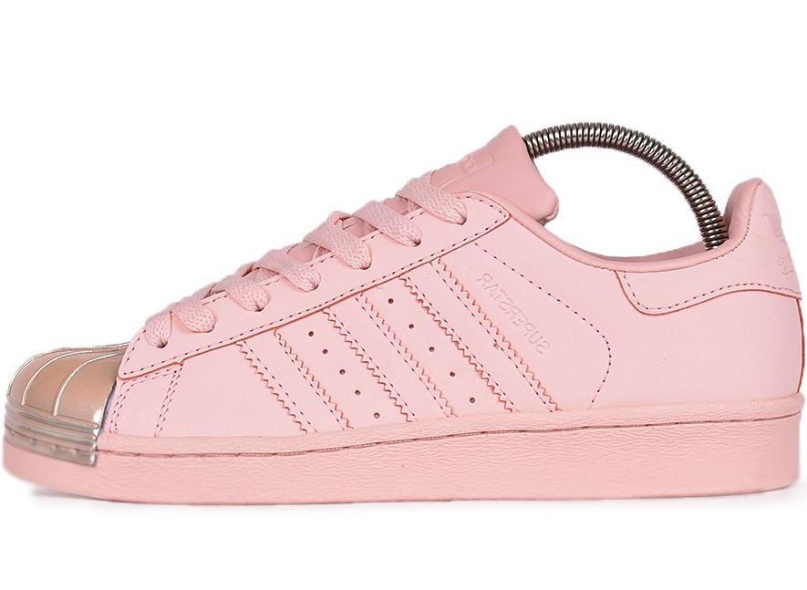 """Женские кроссовки Adidas Superstar """"Pink"""" (в стиле Адидас )"""