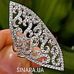 Розкішне кільце Срібне, фото 3