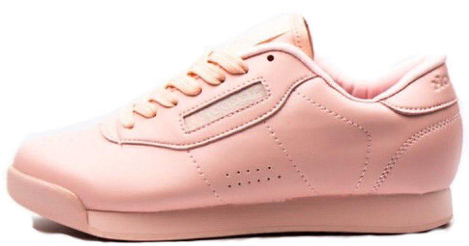 """Женские кроссовки  Reebok Princess """"Pink"""" (в стиле Рибок )"""