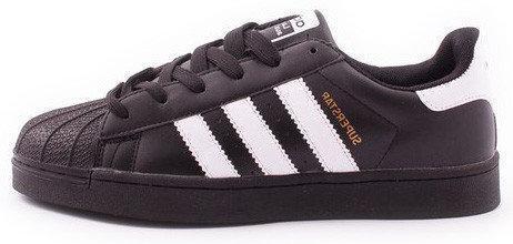"""Кроссовки Adidas Superstar """"Black/White"""" (в стиле Адидас )"""