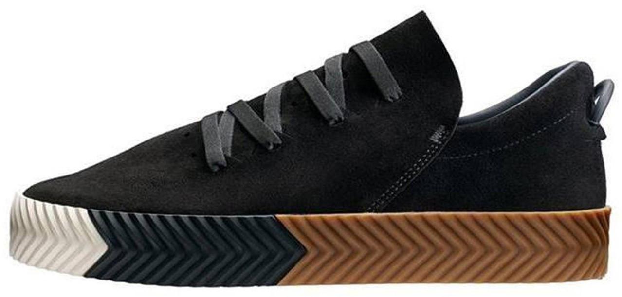 Женские кроссовки Adidas Alexander Wang Black (в стиле Адидас )