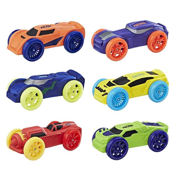 Nerf Набор Машинок для бластера Nitro Foam Car 6-Pack