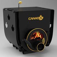 Булерьян «Canada» с варочной поверхностью «01»+стекло и защитный кожух