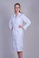 Женский медицинский халат белый 46-66