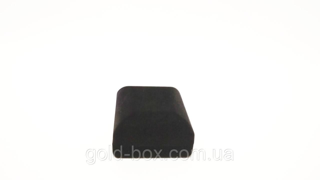 Подарочный футляр для кулона, серёжек черный