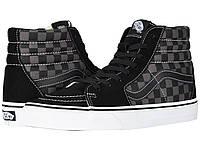 Кроссовки/Кеды (Оригинал) Vans SK8-Hi™ Core Classics (Checkerboard) Black/Pewter, фото 1