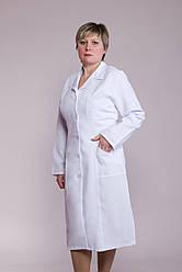 Женский медицинский халат белый 48-66