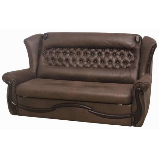 Диван Garnitur.plus Милано коричневый 178 см