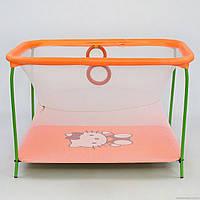 Манеж Люкс игровой с мелкой сеткой Hello Kitty, фото 1