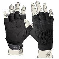 Перчатки тактические Helikon-Tex HFG Tactical безпалые черные