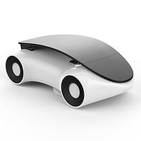 Автомобильный держатель для телефона многофункциональный белый