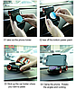 Автомобильный держатель для телефона многофункциональный черный, фото 6