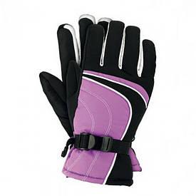 Перчатки лыжные профессиональные фиолетовые Польша